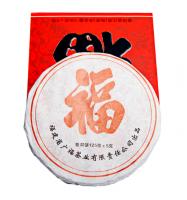 Пу-Эр Медаль Шу 2011  лепешка 125 г - элитный китайский чай пуэр.