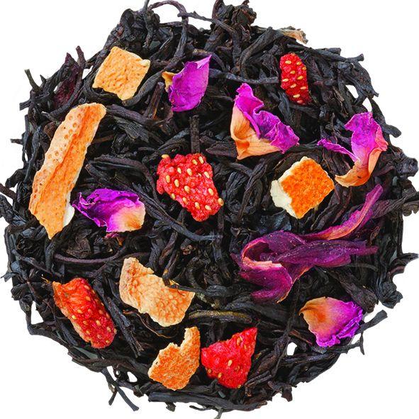 Чай Английской королевы -  смесь индийского и цейлонского чая с натуральными ароматизаторами..